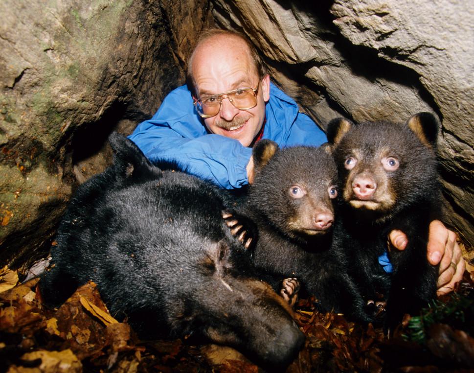 Gary Alt 3mg In Den With Bears