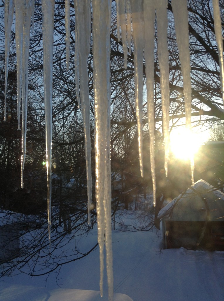 These are some serious icicles!