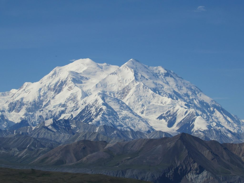 Mt. Denali was the main attraction for all those who visit Denali National Park.